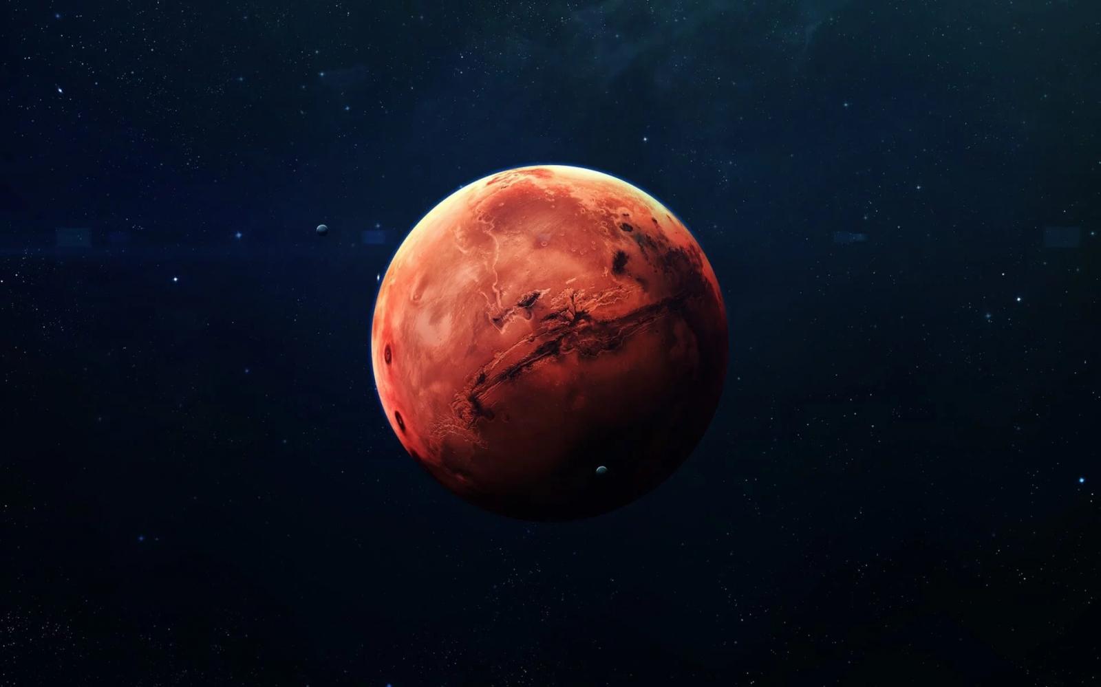 НАСА опубликовало звуки с поверхности Марса