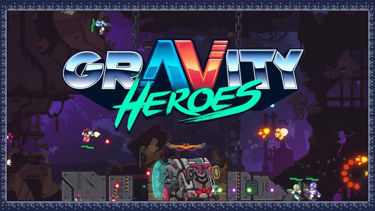Аркадный боевик-триллер Gravity Heroes вышел в Steam