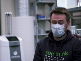 Лабораторией Робототехники Разработана новая версия Робота-дезинфектора