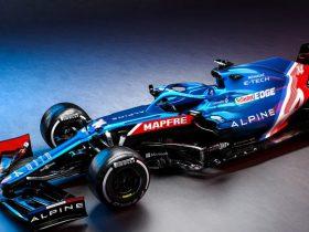 Alpine представляет автомобиль Формулы-1 2021 года и его покраску