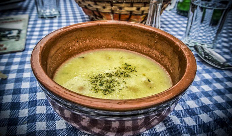 Сытный суп с бараниной