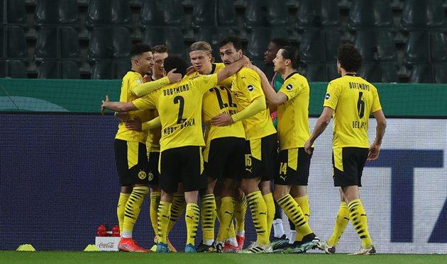 Боруссия Д обыграла Боруссию М и вышла на 1/2 Кубка Германии