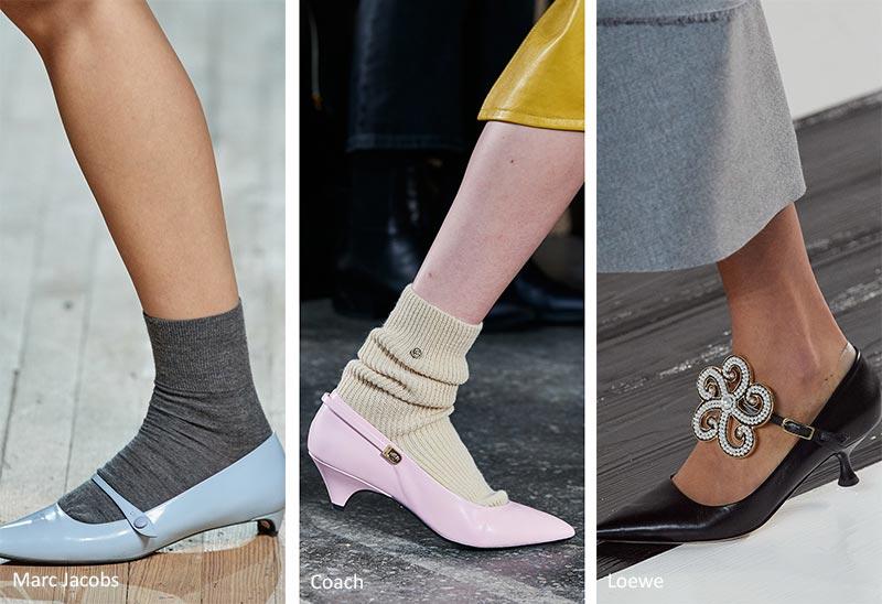 Тренды обуви весна 2021