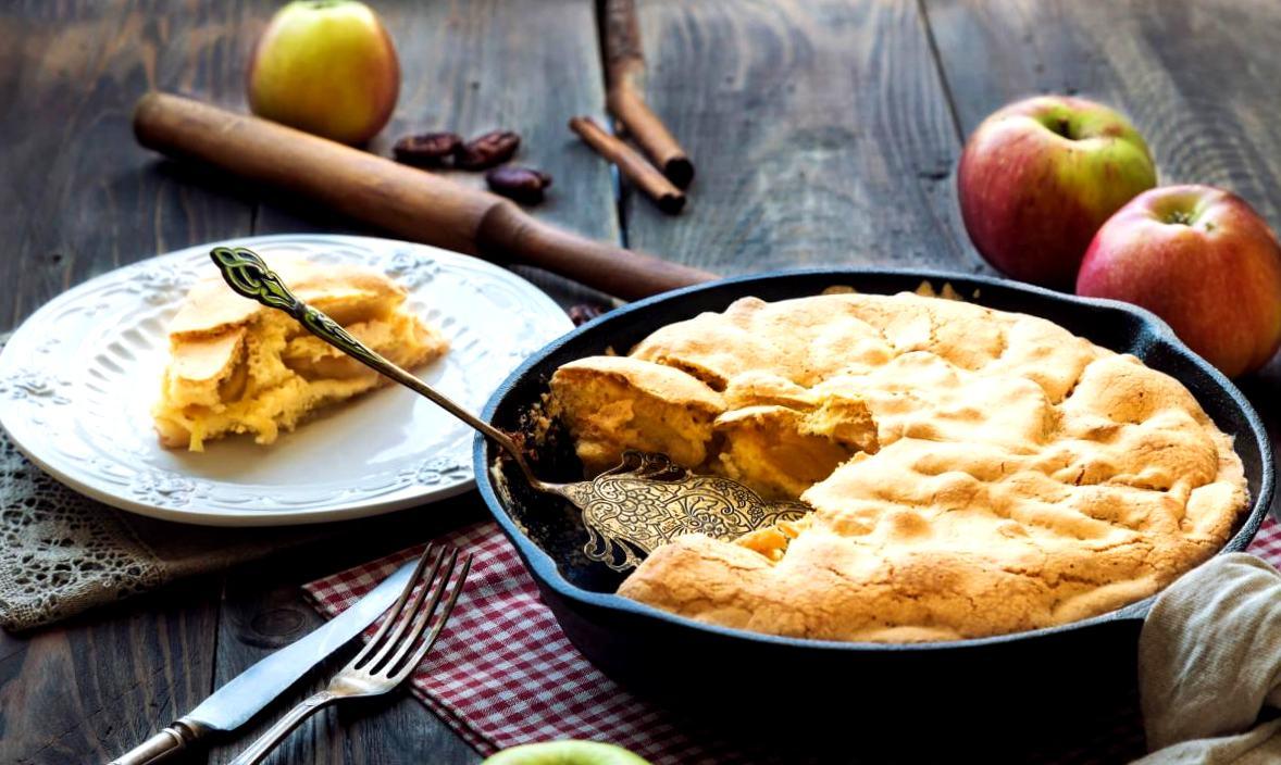 Как приготовить идеальную яблочную шарлотку — рецепт