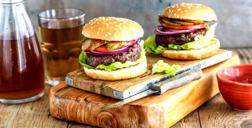 Лучший рецепт Бургера. Ингредиенты, готовка, видео   рецепт бургер, гамбургер, чизбургер, ингредиенты, говядина