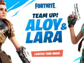 Объединение Элой и Лары Крофт из Fortnite отложено до следующей недели
