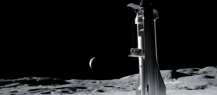 НАСА выбирает SpaceX и Starship для отправки астронавтов Artemis на Луну