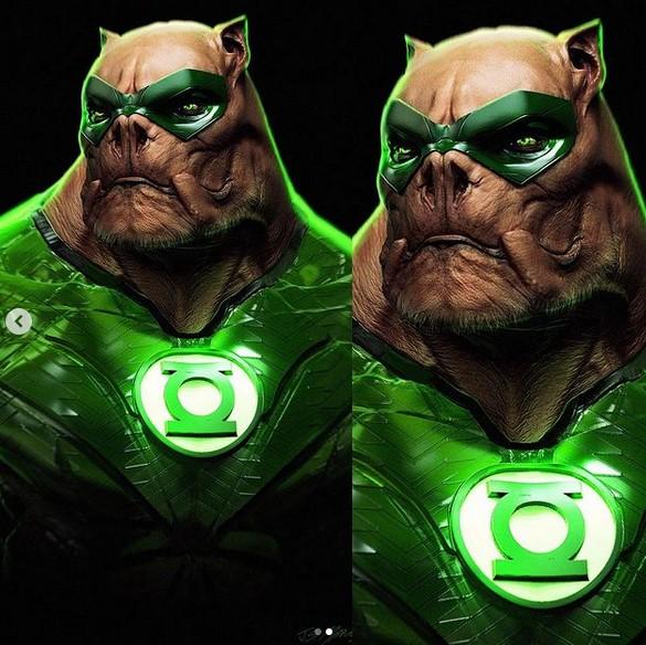 Лига справедливости Зака Снайдера: концепт-арт Зеленого Фонаря Киловога