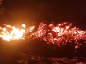 В Конго начал извергаться еще один вулкан, молчавший почти полвека