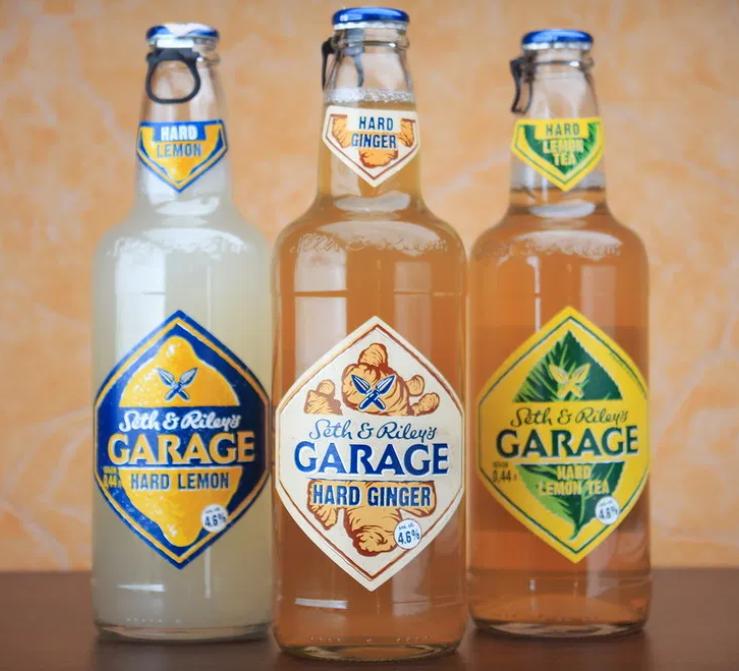 Гараж напиток. Слабоалкогольный напиток Seth & Riley's Garage