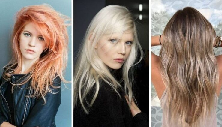 Самые модные цвета волос на 2021 год