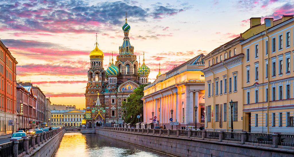 Белые ночи Санкт — Петербурга