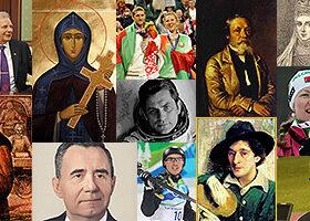 Найдите список выдающихся личностей-уроженцев беларуси