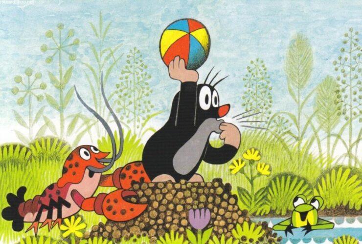 Польский мультик про крота. Старый добрый мультфильм