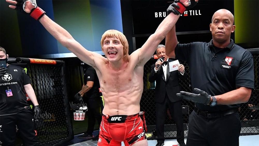 Пэдди Пимблетт объявил себя новым королем UFC