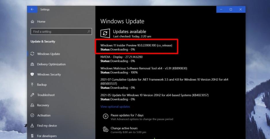 Объявлена дата выпуска windows 11: 5 октября 2021 г