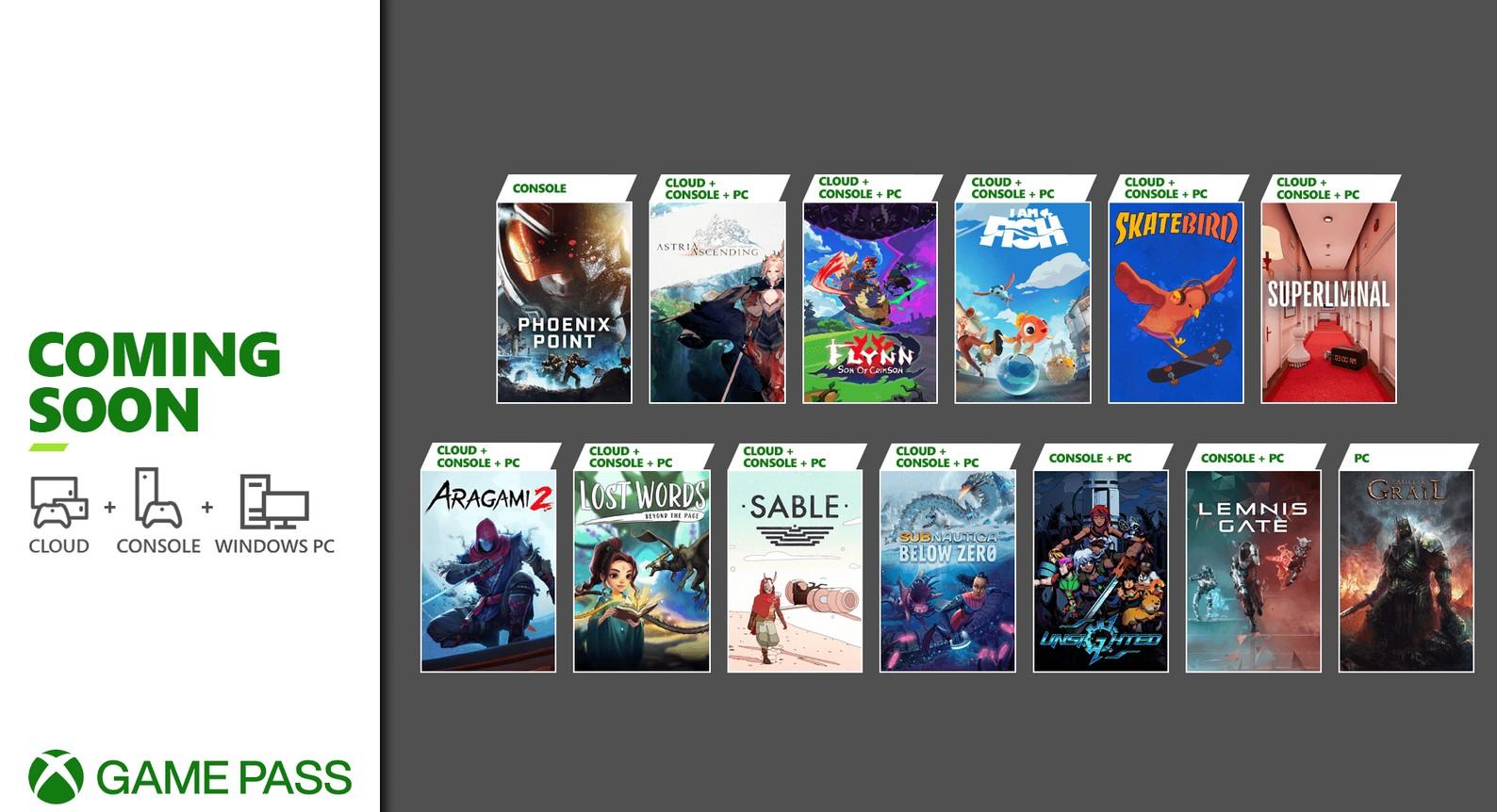 Объявлено 13 новых игр для Xbox Game Pass