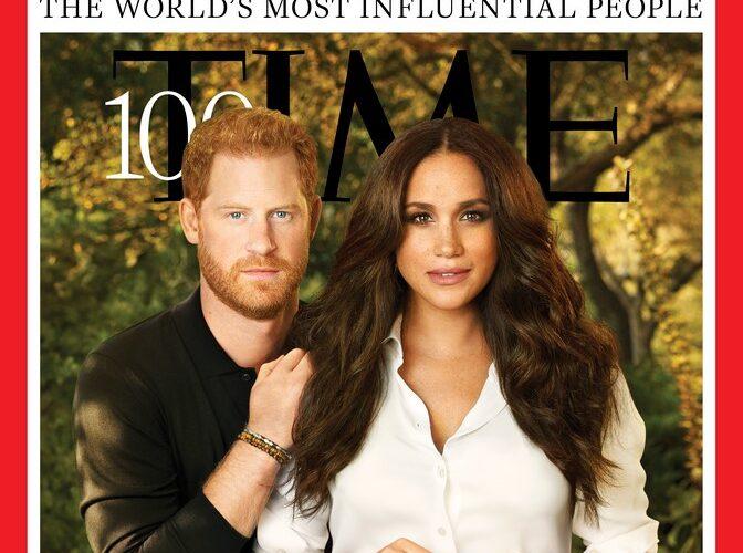 Принца Гарри и Меган Маркл троллили из-за чрезмерно отфотошопленной обложки TIME