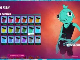 Где найти бутылки Ghoulish Green в Fortnite