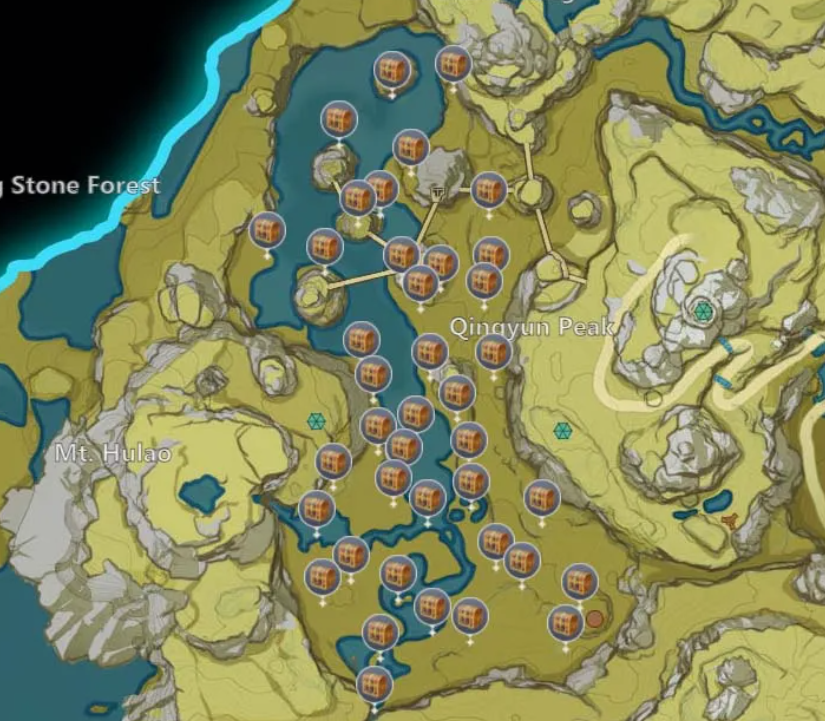 Горная тропа геншин.  Горная тропа в версии Genshin Impact 2.1