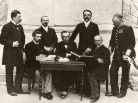 Кто был первым президентом международного олимпийского комитета?
