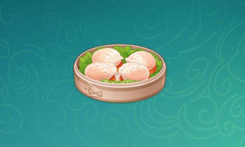 Кристальные баоцзы Геншин. Рецепт приготовления блюда