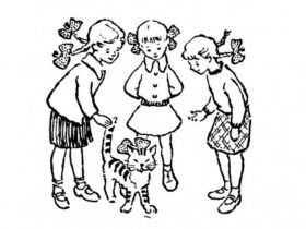 Советская загадка, угадай кто хозяйка кота, ответ