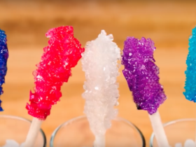 Как сделать леденцы из сахара?